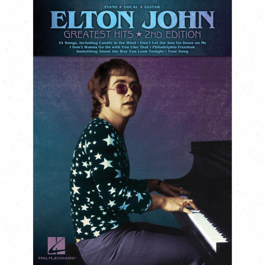 Hal Leonard Elton John - Greatest Hits, 2nd Edition Songbook - Hl 00308114