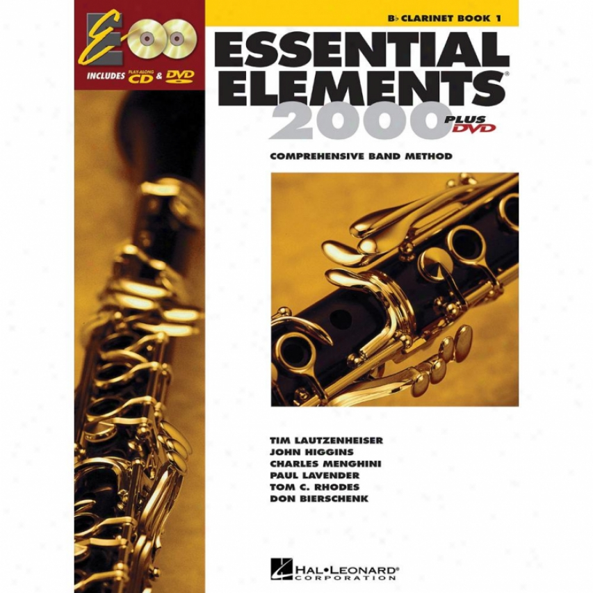 Hal Leonard Essential Elements 2000, Book 1 Plus Dvd - Hl 00862569