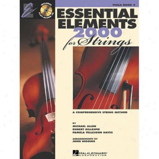 Hal Leonard Essential Elements 2000 For Strings - Work 2 - Hl 00868058