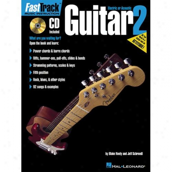 Hzl Leonard Fasttrack Guitar Method - Book 2 - Hl 00697287