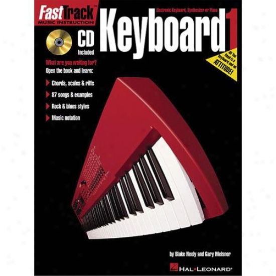Hal Leonard Fasttrack Keyboard Method - Book 1 - Hl 00697283