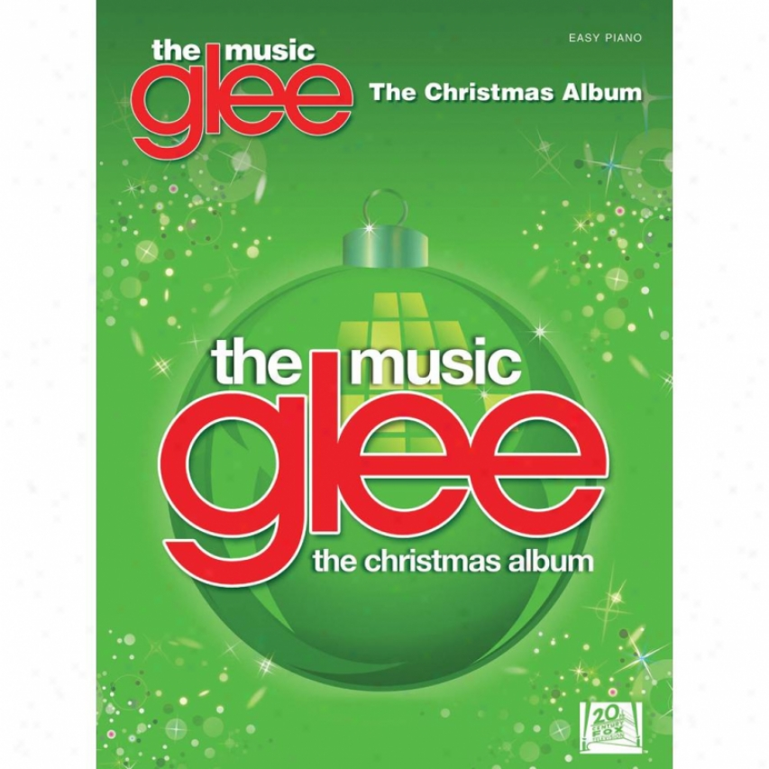 Hal Leonard Glee: The Music - The Christmas Album Songbook - Hl 00316162