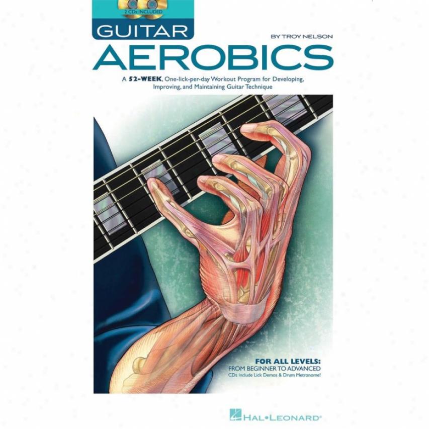 Hal Leonard Guitar Aerobics Book - Hl 00695946