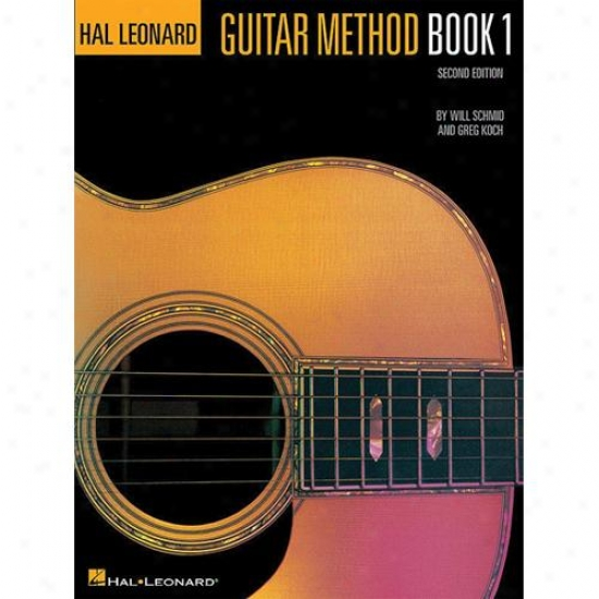 Hal Leonard Guitar Method Book 1 - Hl 00699010