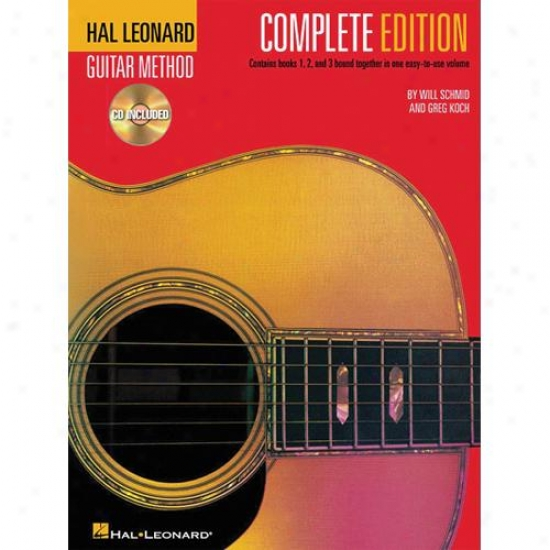 Hal Leonard Guitar Method, Second Edition - Completed Edition - Hl 00697342