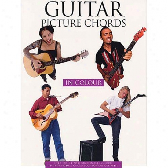 Hal Leonard Guitar Paint Ch0rds In Color Book - Hl 14013520