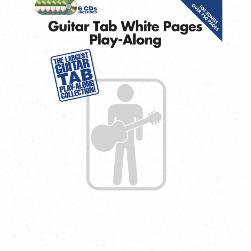 Hal Leonard Guitar Tab White Pages - Play-along - Hl 00701764