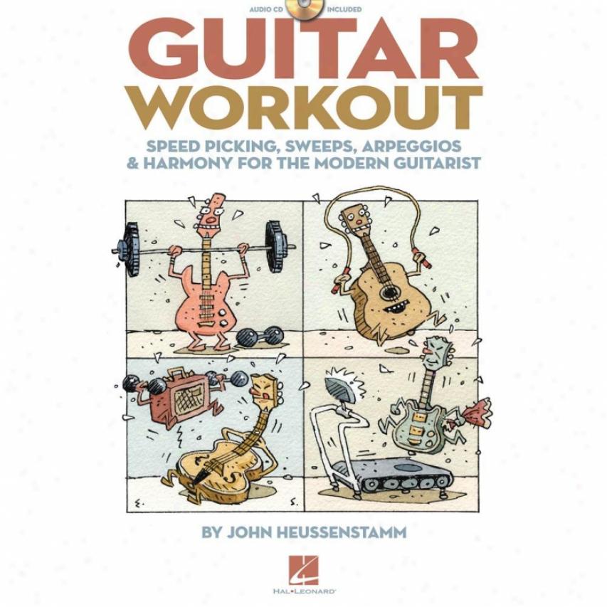 Hal Leonard Guitar Workout Book - Hl 00696223