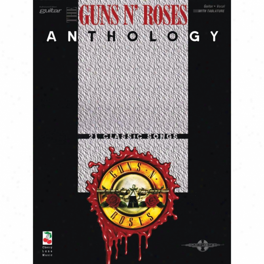 Hal Leonard Guns N' Roses Anthology Songbook - Hl 02501241