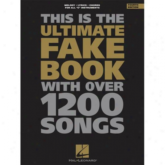 Hal Leonard Hl 00240024 The Ultimate Fake Book - 4th Edition