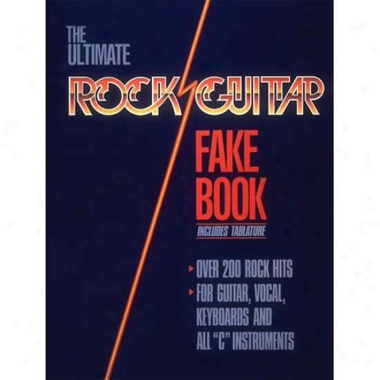 Hal Leonard Hl 00240070 The Ultimate Rock Guitar Fake Book