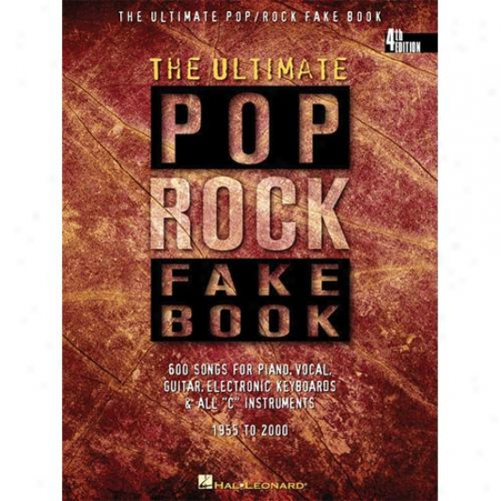 Hal Leonard Hl 00240099 The Bring into use Pop/rock Fake Book - 4th Edition
