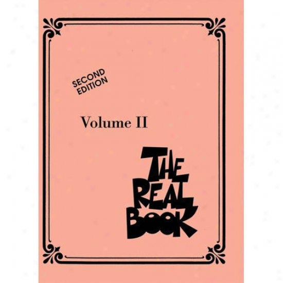 Hal Leonard Hl 00240222 The Real Book - Volume Ii