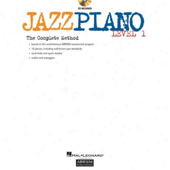 Hal Leonard Hl 00290529 Jazz Piano - Levsl 1