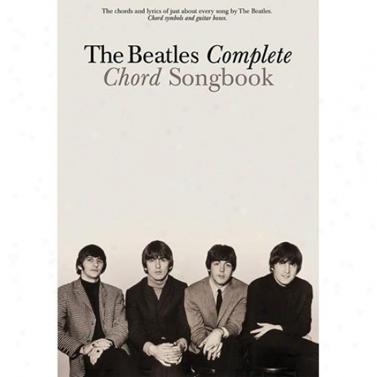 Hal Leonard Hl 00306349 The Beatles Complete Chord Songbook