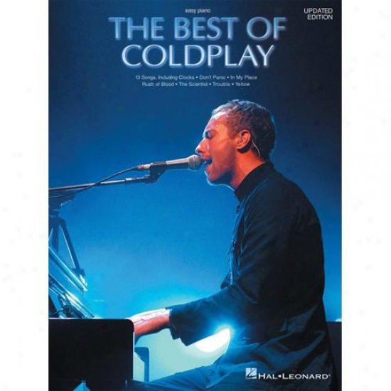 Hal Leonard Hl 00306560 The Best Of Coldplay For Easy Piano