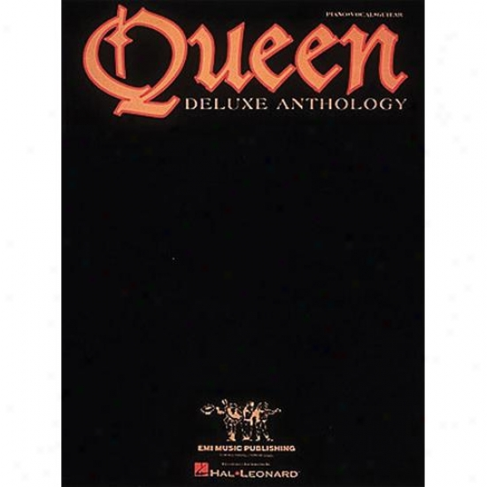 Hal Leonard Hl 00308246 Queen - Deluxe Anthology