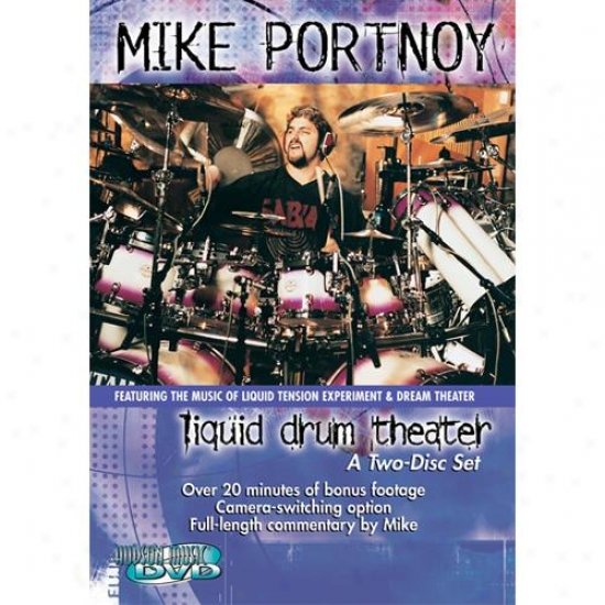 Hal Leonard Hl 00320305 Miie Portnoy - Liquid Drum Theater