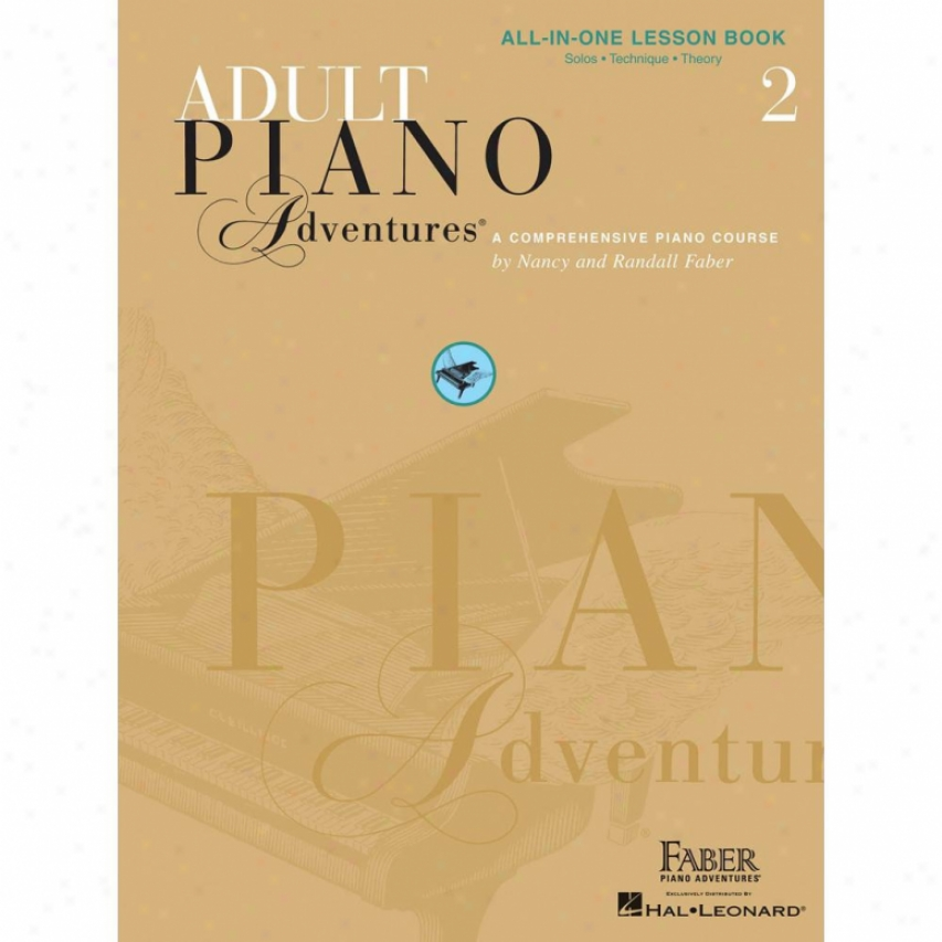 Hal Leonard Hl 00420246 Adult Piano Adventures All-in-one Lesson Work 2