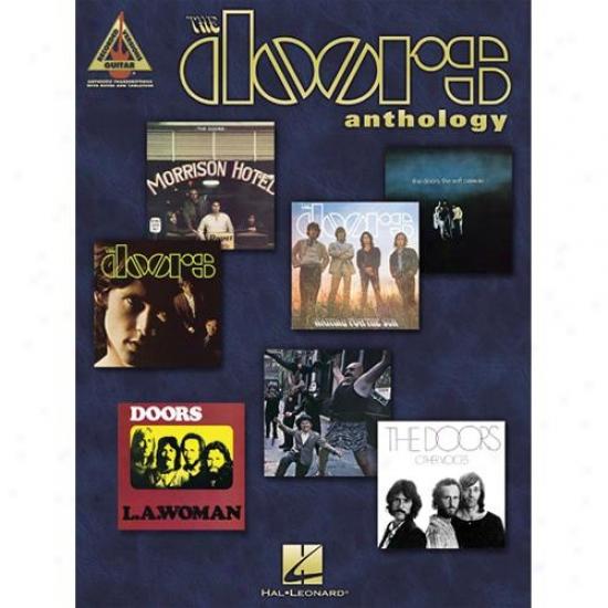 Hal Leonard Hl 00690347 The Doors Anthology