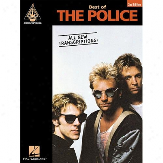 Hal Leonard Hl 00693864 With the highest qualification Of The Police - 2nd Edition