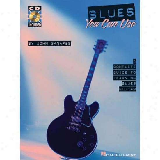 Hal Leonarr Hl 00695007 Blues You Can Use