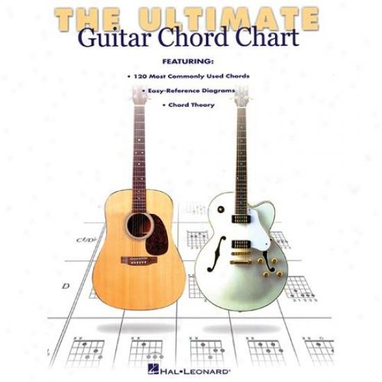 Hal Leonard Hl 00695347 Ultimate Guitat Chord Chart