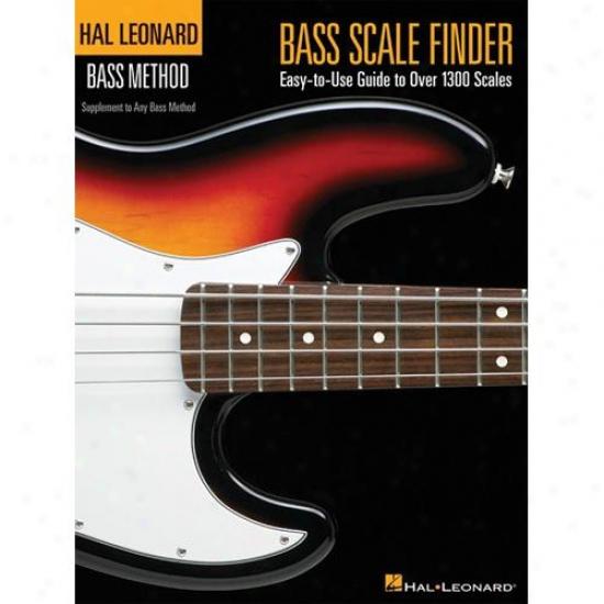 Hal Leonard Hl 00695778 Bass Lamina Finder