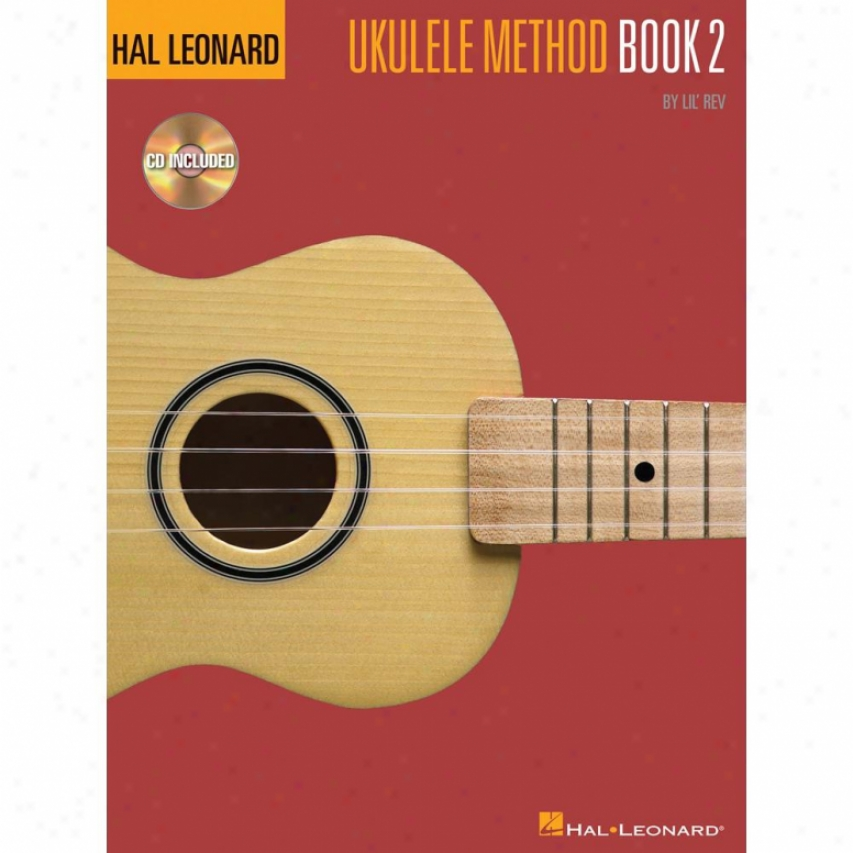 Hal Leonard Hl 00695949 Ukulele Method Book 2
