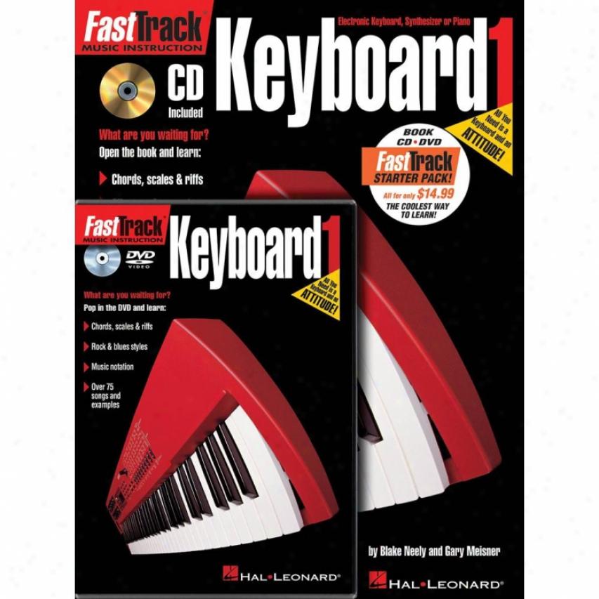Hal Leonard Hl 00696406 Fasttrack Keyboard Method Starter Pack