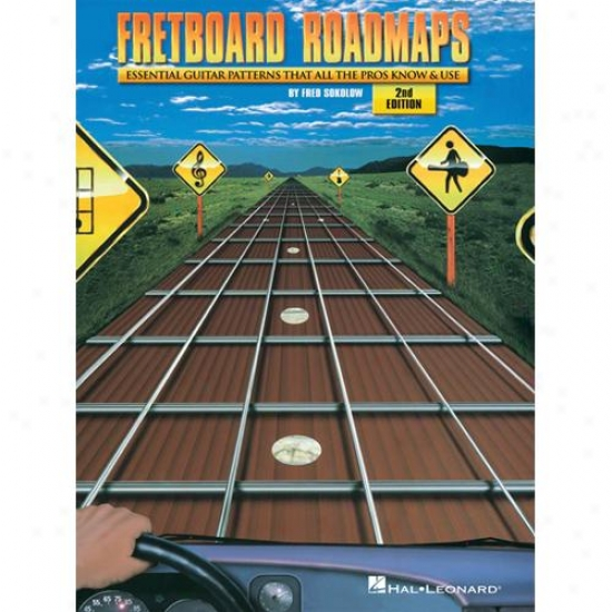 Hal Leonard Hl 00696514 Fretboard Roadmaps - 2nd Edition
