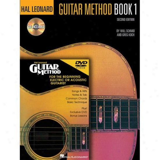 Hal Leonard Hl 00697341 Guitar Method Beginners? Pack
