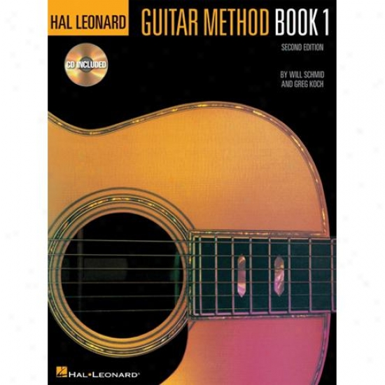 Hal Leonard Hl 00699027 Guitar Method Book 1
