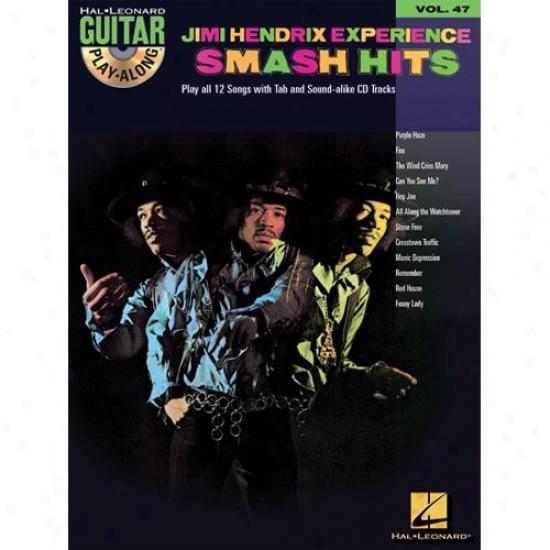 Hal Leonard Hl 00699723 Jimi Hendrix Experience - Smash Hits