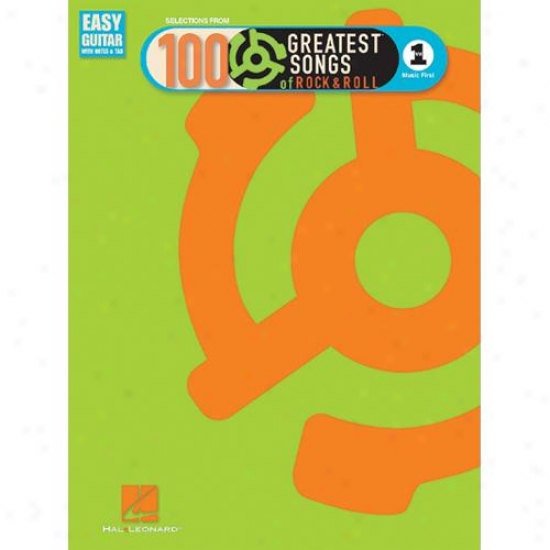 Hal Leonard Hl 00702175 Vhh1's 100 Grdatest Songs Of Rock & Roll