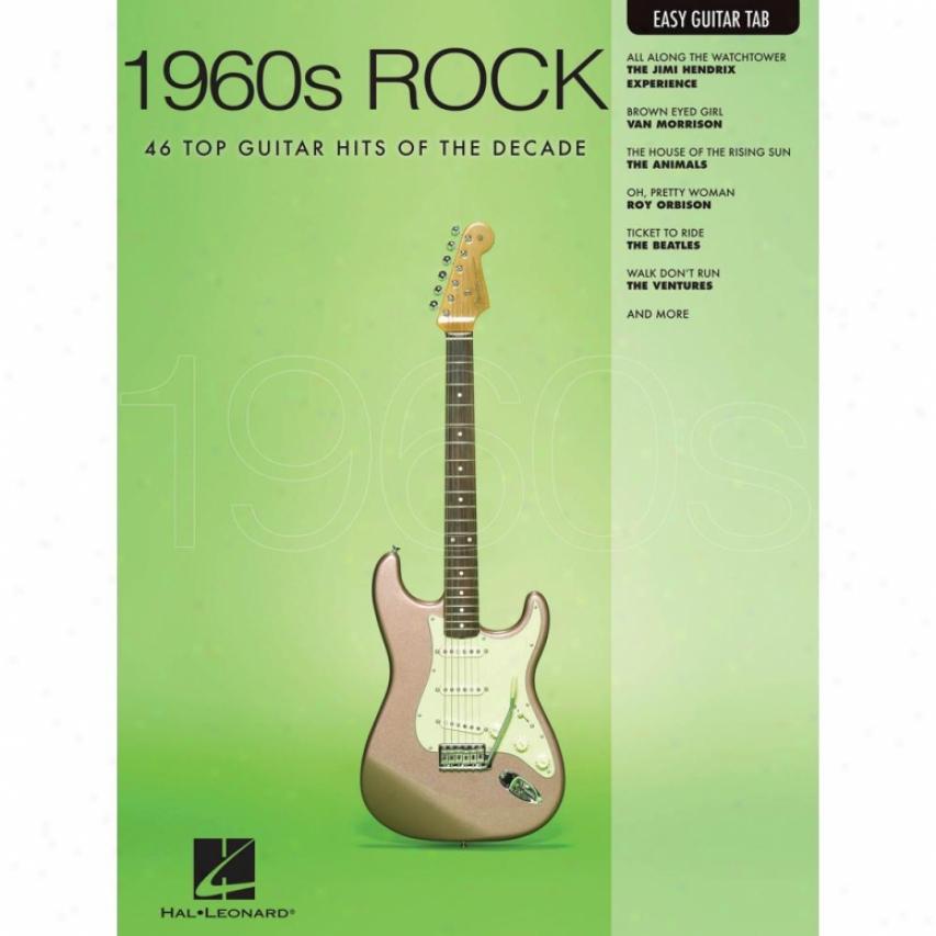 Hal Leonard Hl 0070221 1960s Rock Songbook