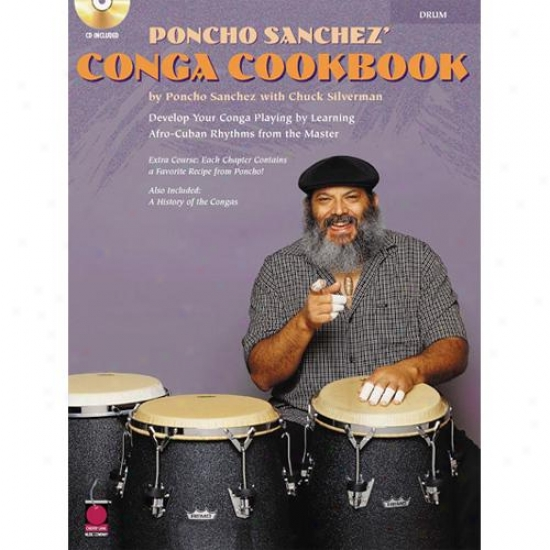 Hal Leonard Hl 02500278 Poncho Sanchez' Conga Cookbook