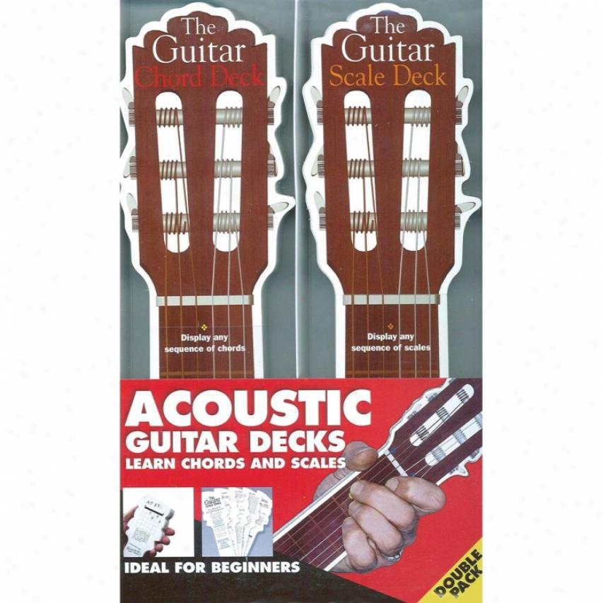 Hal Leonard Hl 14001107 The Acoustic Guitar Decks Instructional Main division