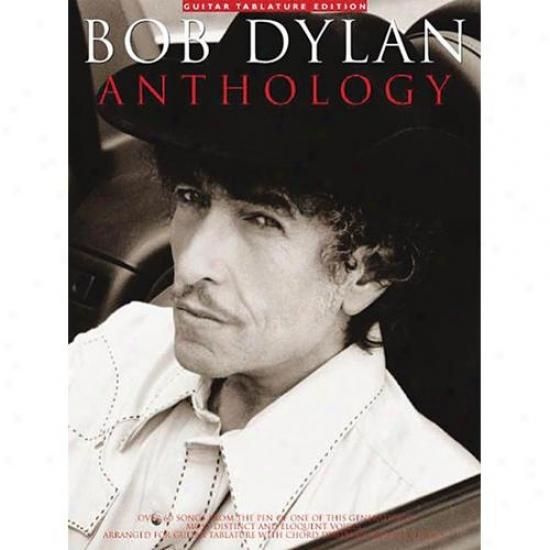 Hal Leonard Hl 14004740 Bob Dylan Anthology