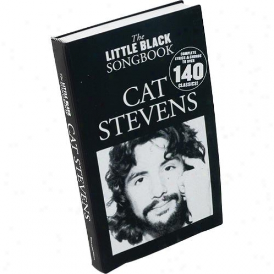 Hal Leonard Hl 14019179 Cat Stevens - The Little Mourning Songbook