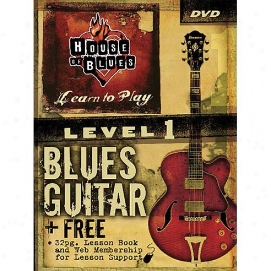 Hal Leonard Hl 1402727 Blues Guitar - Level 1 Instructional Video