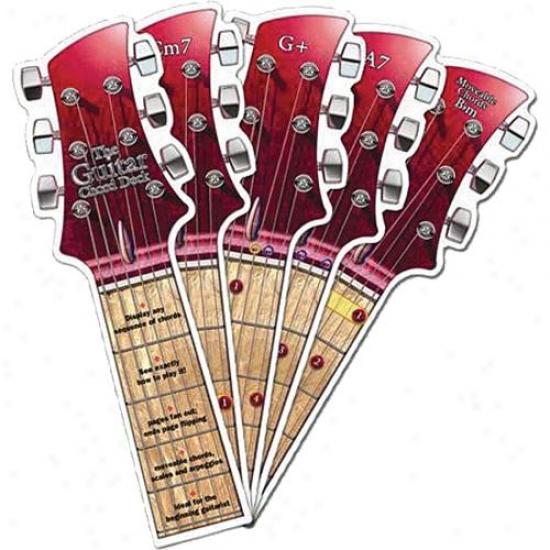 Hal Leonard Hl 14027543 The Rock Guitar Chord Adorn Instructional Book