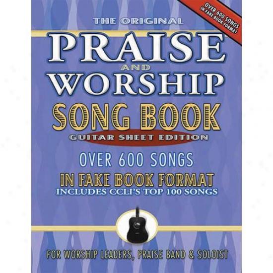 Hal Leonard Hl 75708647 Praise And Worship Songbook