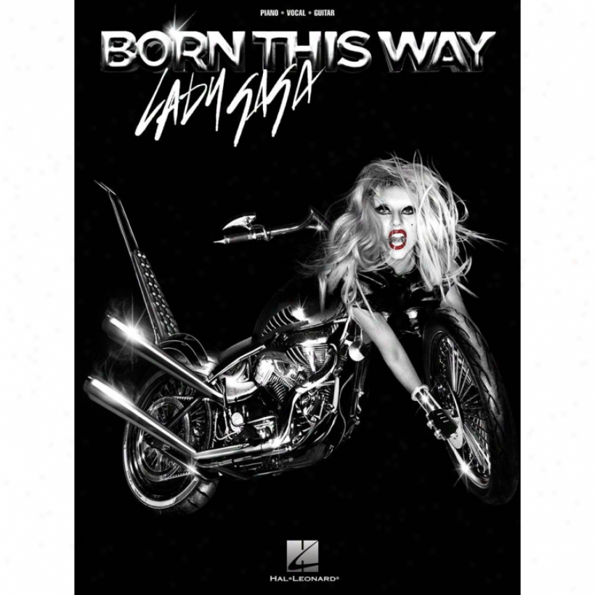 Hal Leonard Lady Gaga - Born This Way