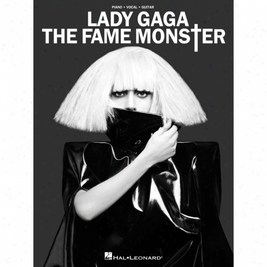 Hal Leonard Lady Gaga - The Fame Monsrer Songbook - Hl 00307145
