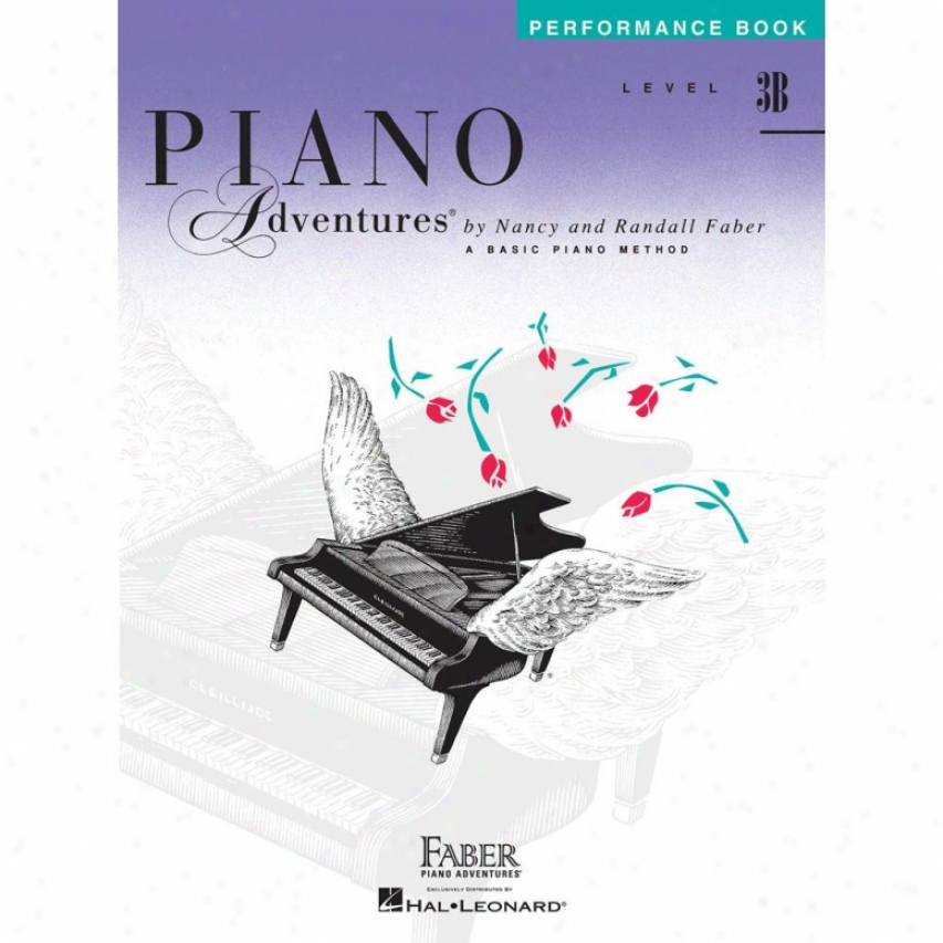 Hal Leonard Level 3b - Performance Book - Piano Adventures - Hl 00420222