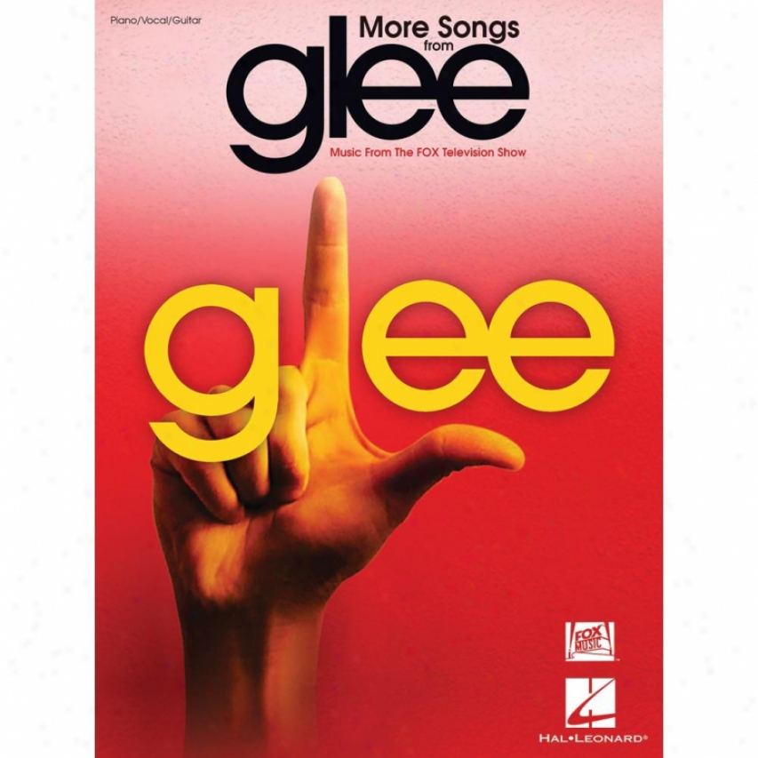 Hal Leonard More Songs From Glee - Hl 00313491