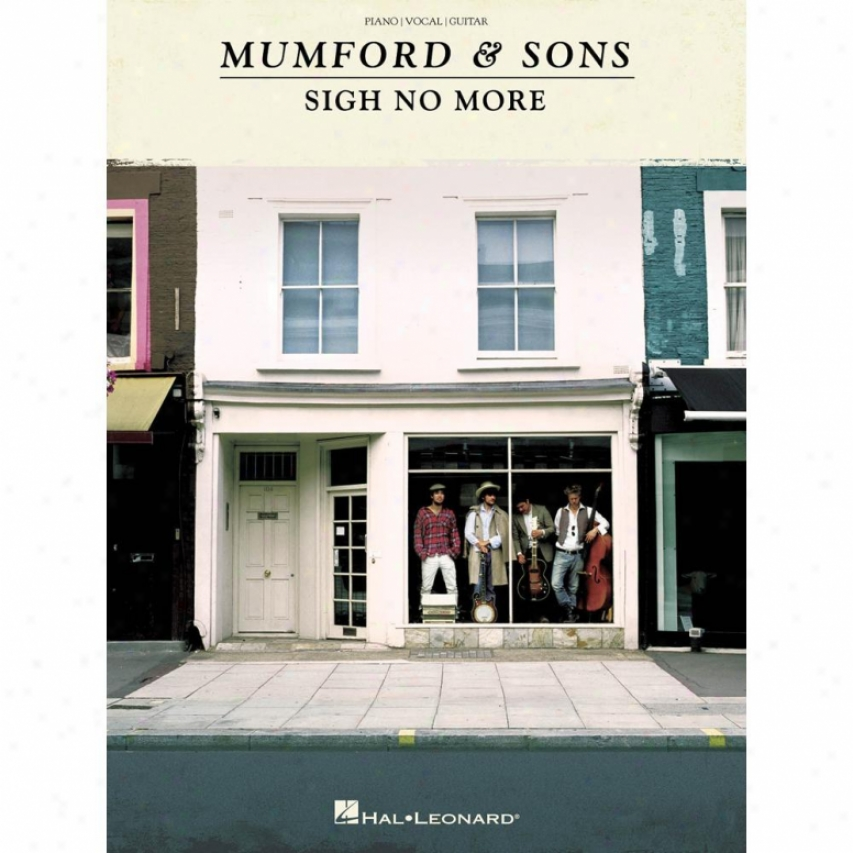 Hal Leonard Mumford & Sons - Sigh No More Songbook