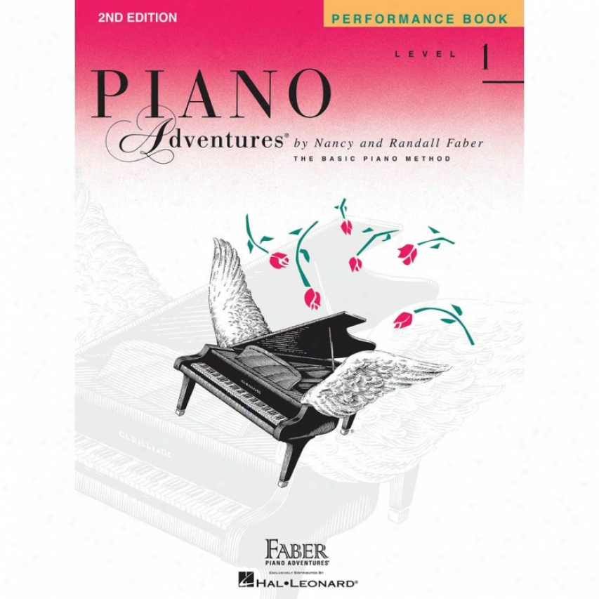 Hal Leonard Piano Adventures Level 1 - Performance Book - 2nd Edition