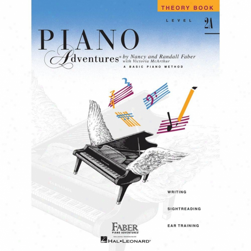 Hal Leonard Piano Adventures Level 2a - Theory Book - Hl 00420175
